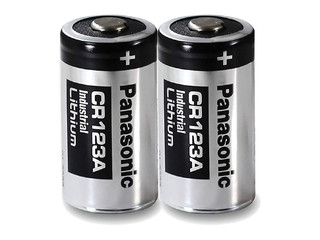 Panasonic CR123A Power Batterie 2er Pack