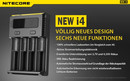 Nitecore Intellicharge New i4 - AAA, AA, RCR123, 18650er...