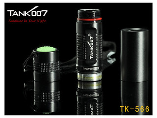 Tank007 TK-566 1W UV LED 1xAA Batterie! (395nm)